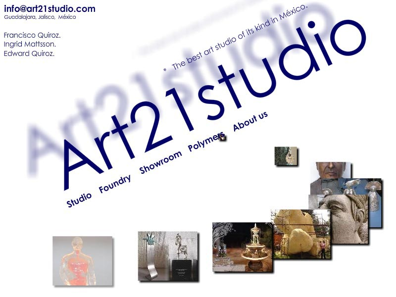 Art21Studio is one of the best full service art spaces in México, offering from accommodation and ateliers for sculptors, painters and artists in general, to engineering support, mold making, sand and lost wax casting, shell, finishing, patinas and coating, polymers in art, ceramics, as well as a range of conservation and restoration services.